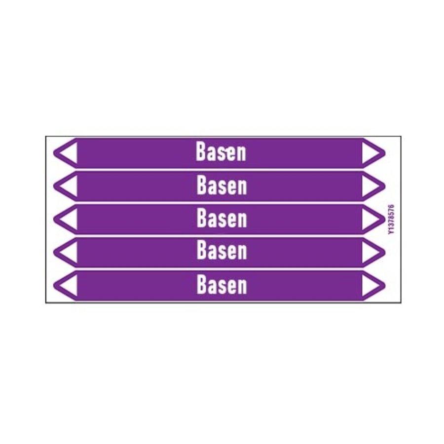 Leidingmerkers: Kalkmelk | Nederlands | Basen