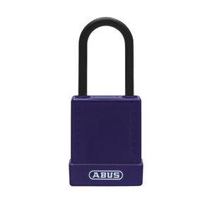 Abus Aluminium veiligheidshangslot met paars cover 84812