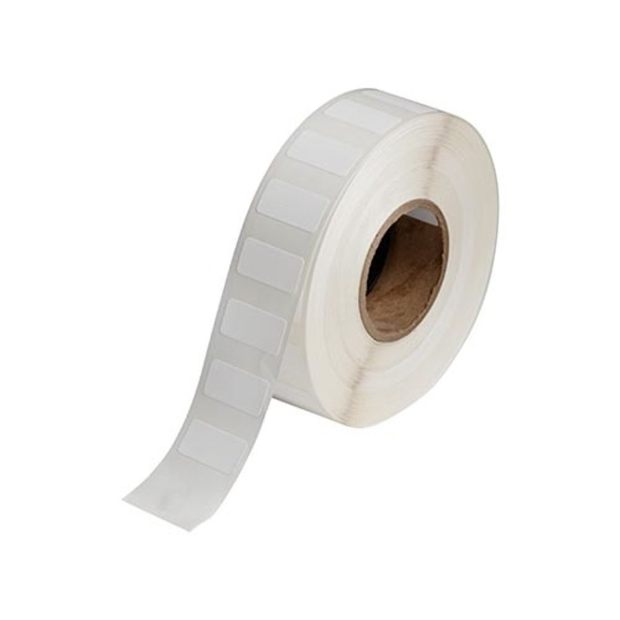 Polypropylene labels  | 25,40  x 12,70 mm