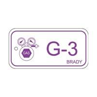 Isolatiepunt label Gas