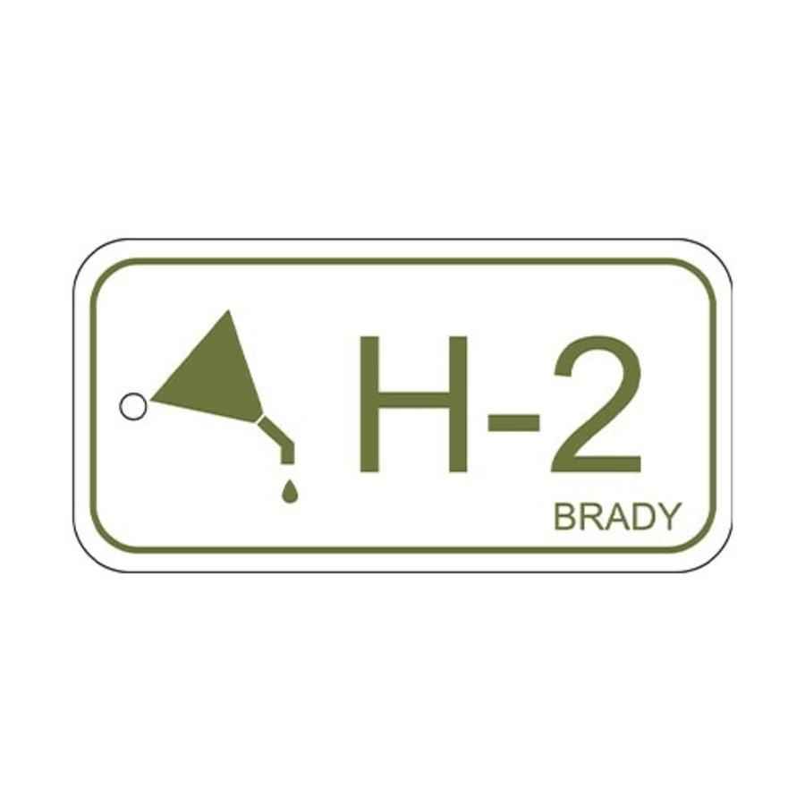 Isolatiepunt label Hydraulisch