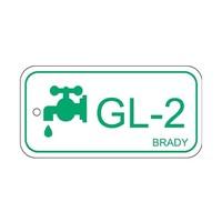 Isolatiepunt label Glycol