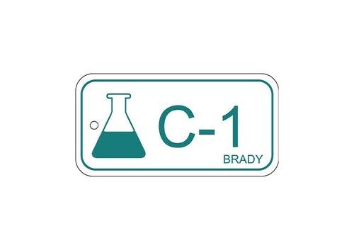 Isolatiepunt label Chemisch