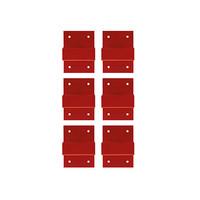 Lockpoint wandmontage set 77944