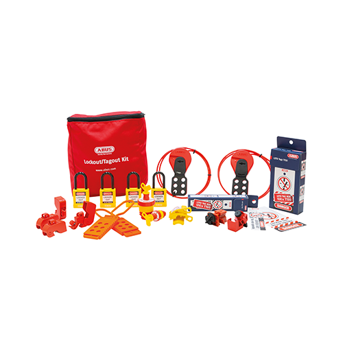 Lockout Tagout Set Elektrisch Groot