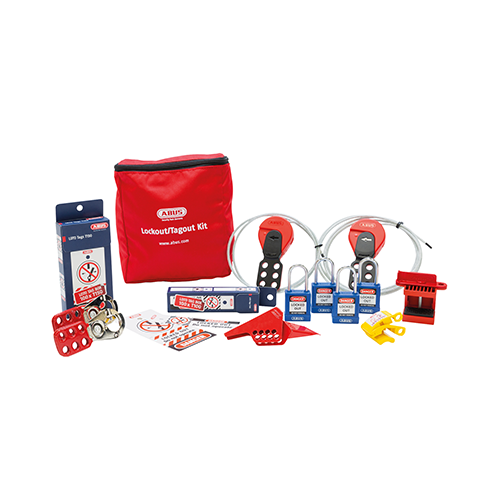 Lockout Tagout Set Mechanisch Groot