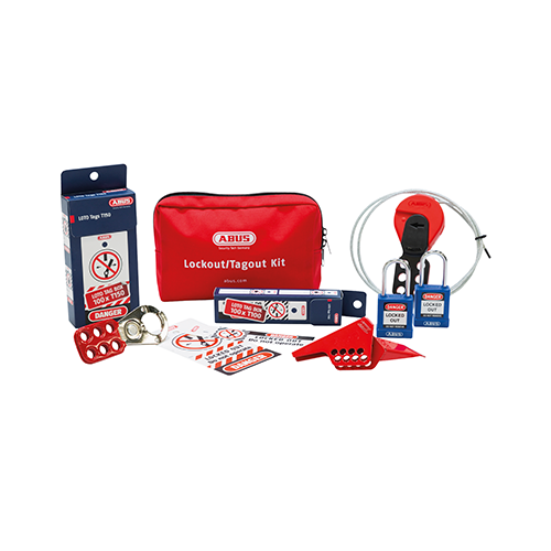 Lock-out Tagout Set Mechanical Small