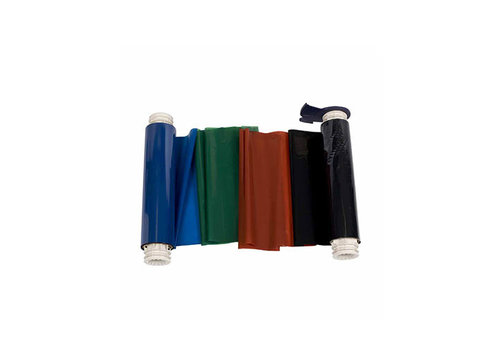 BBP85 Printer Ribbon Black, Red, Blue, Green