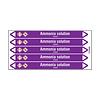 Brady Rohrmarkierer: Ammonia solution | Englisch | Säuren und Laugen