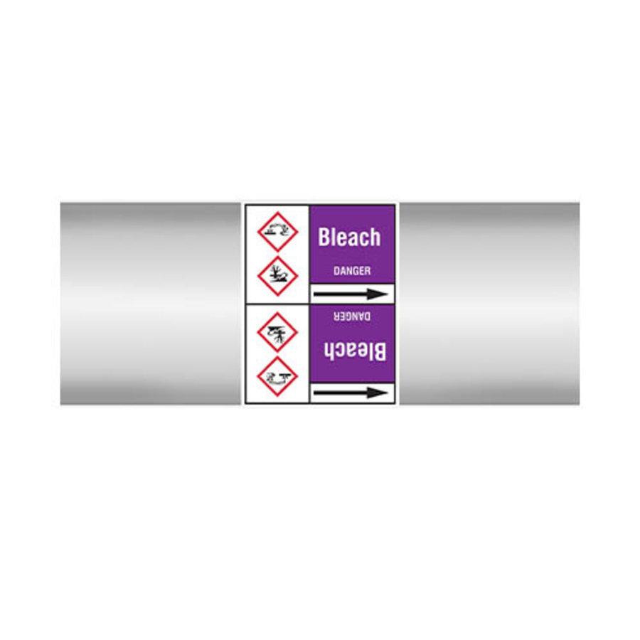 Leidingmerkers: Bleach | Engels | Zuren en basen