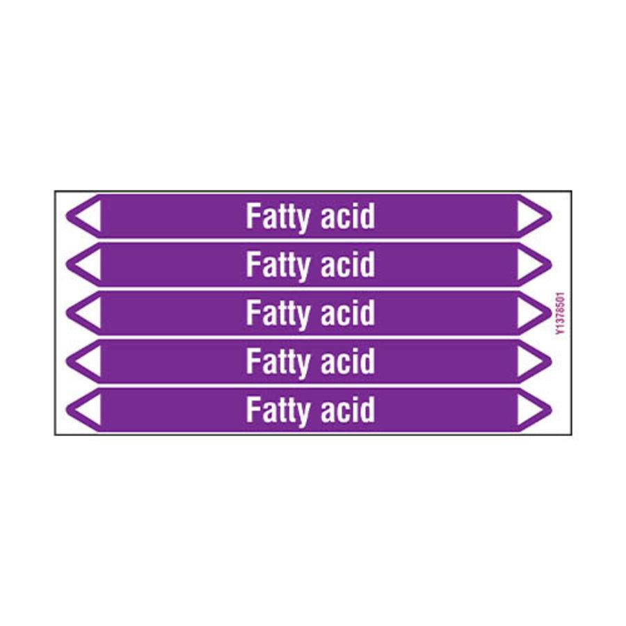 Leidingmerkers: Fatty acid | Engels | Zuren en basen