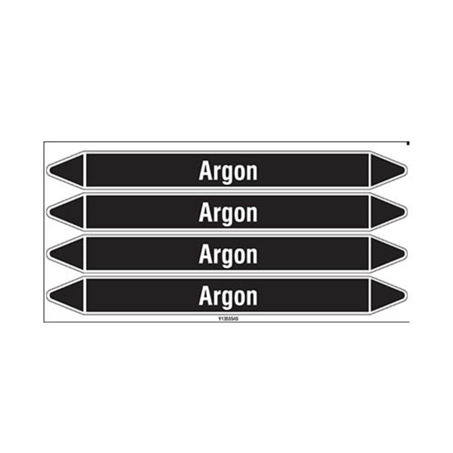 Leidingmerkers: Argon   Nederlands   Niet ontvlambare vloeistoffen