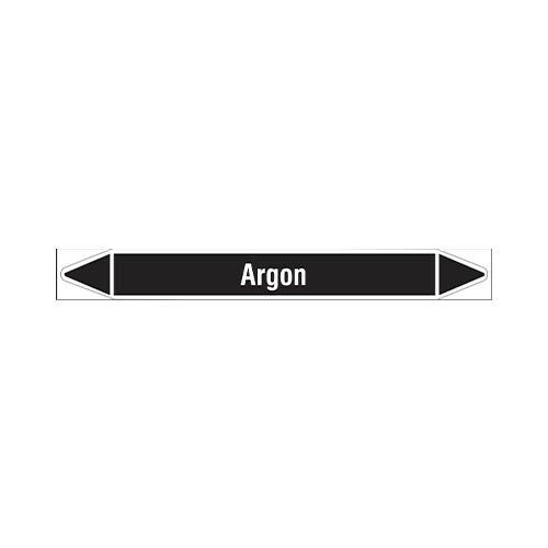 Leidingmerkers: Argon | Nederlands | Niet ontvlambare vloeistoffen