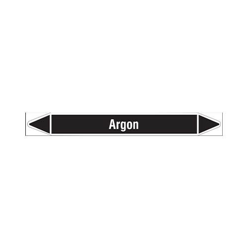 Pipe markers: Argon | Dutch | Non flammable liquids