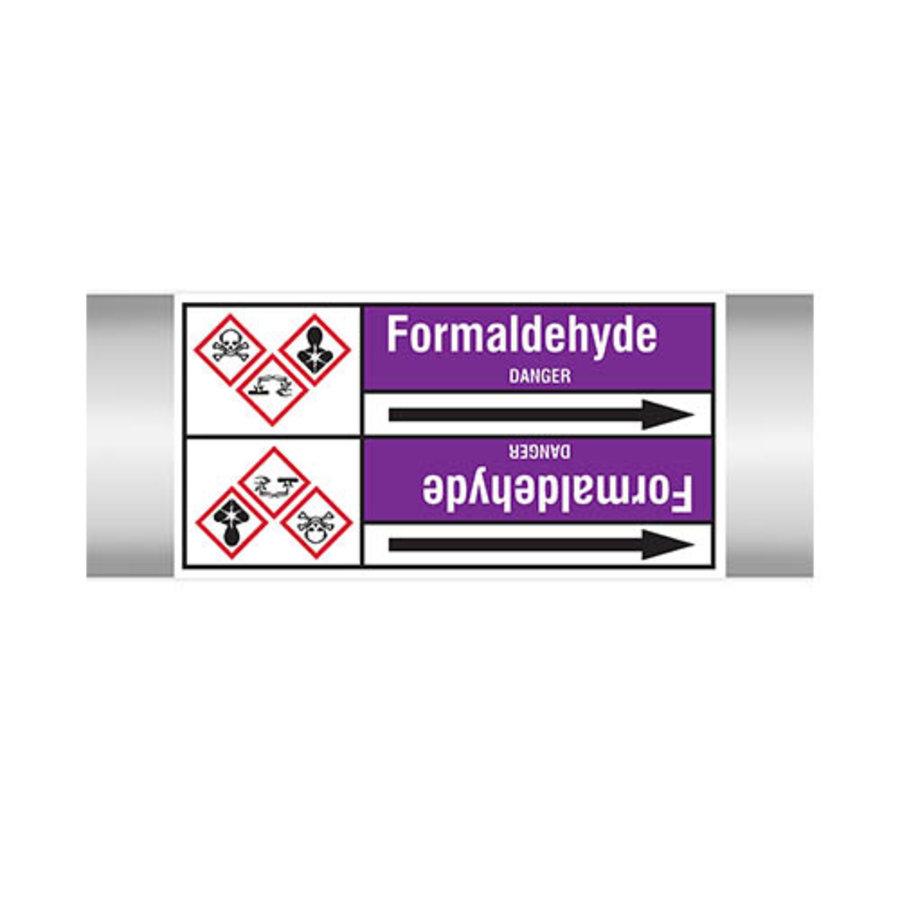Leidingmerkers: Formaldehyde | Engels | Zuren en basen