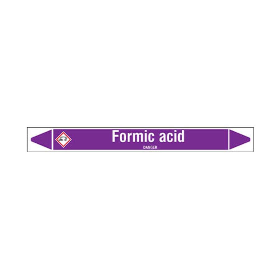 Leidingmerkers: Formic acid | Engels | Zuren en basen