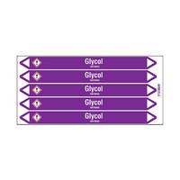 Leidingmerkers: Glycol | Engels | Zuren en basen