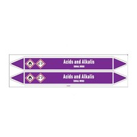 Leidingmerkers: Nitric acid | Engels | Zuren en basen