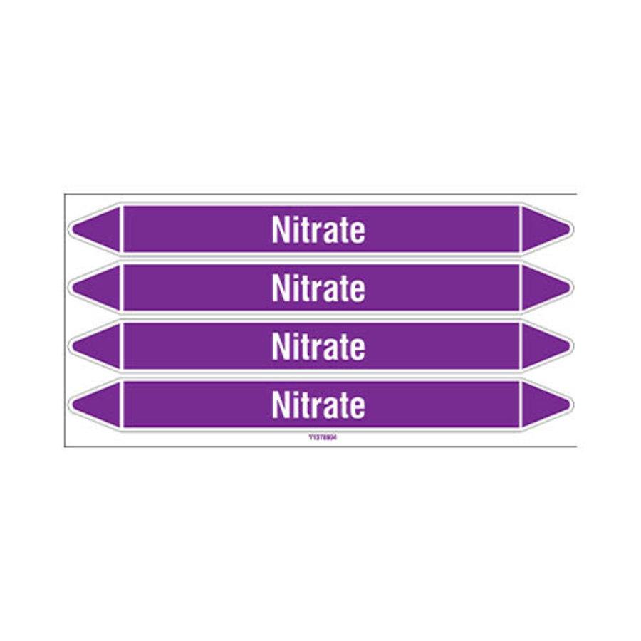 Leidingmerkers: Nitrate | Engels | Zuren en basen