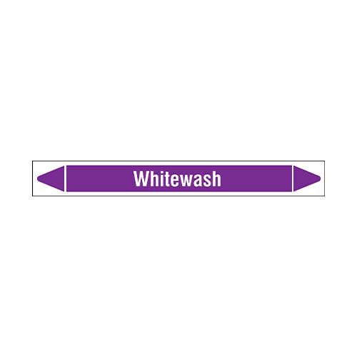 Leidingmerkers: Whitewash | Engels | Zuren en basen