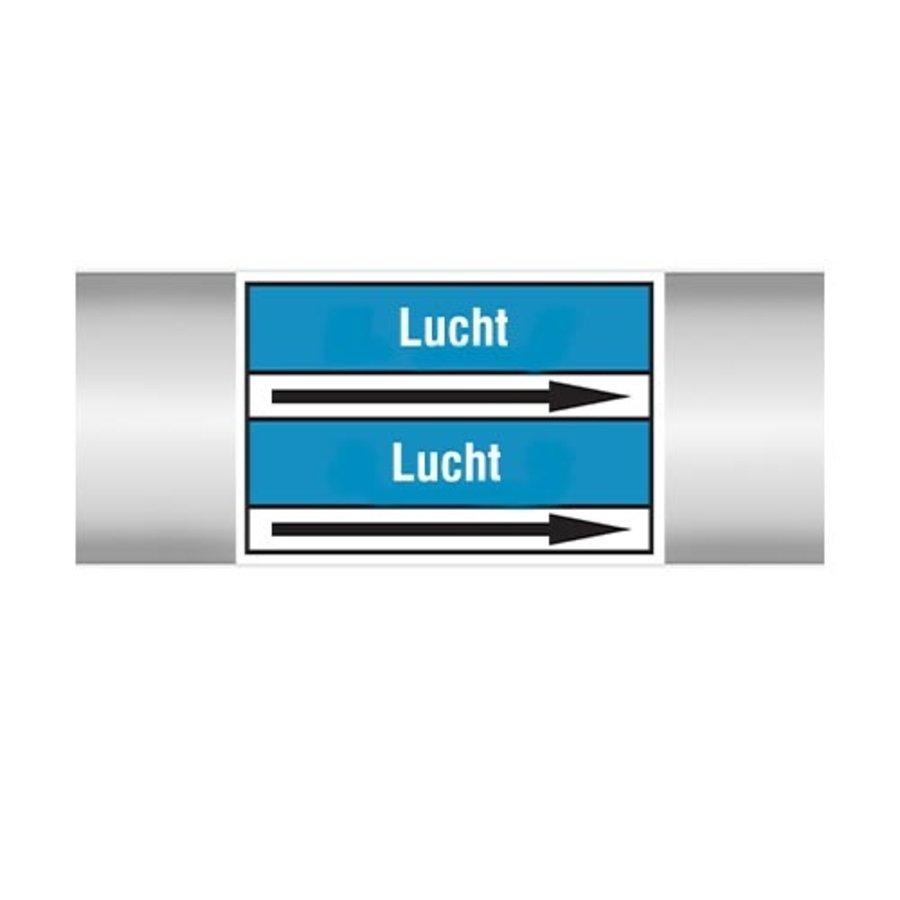 Leidingmerkers: Extractielucht | Nederlands | Lucht