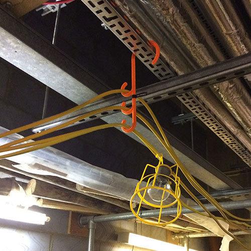 Sicherheitshaken für Kabel   Kabelhalter