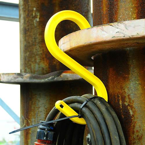 S-haken voor kabels