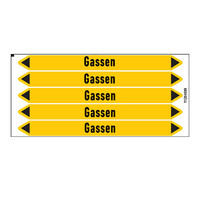 Leidingmerkers: Aardgas | Nederlands | Gassen