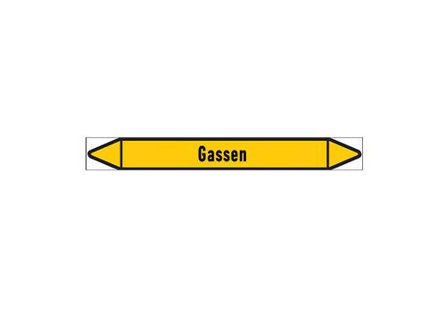 Leidingmerkers: Aardgas LD | Nederlands | Gassen