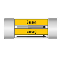 Leidingmerkers: CO2  Gas | Nederlands | Gassen