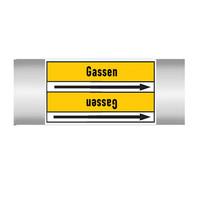 Leidingmerkers: Inert-gas | Nederlands | Gassen
