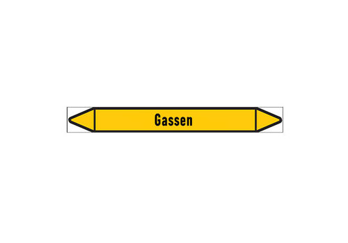 Leidingmerkers: Vacuümleiding | Nederlands | Gassen