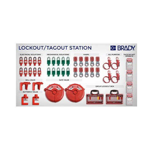 Brady Lockout/Tagout-Shadowboard