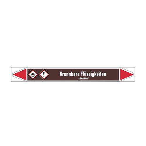 Rohrmarkierer: Acrylnitril   Deutsch   Brennbare Flüssigkeiten