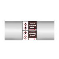 Leidingmerkers: Acrylnitril   Duits   Ontvlambare vloeistoffen