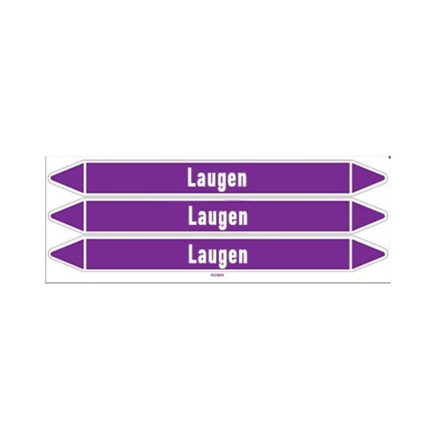 Leidingmerkers: Lauge Entsalzung | Duits | Basen