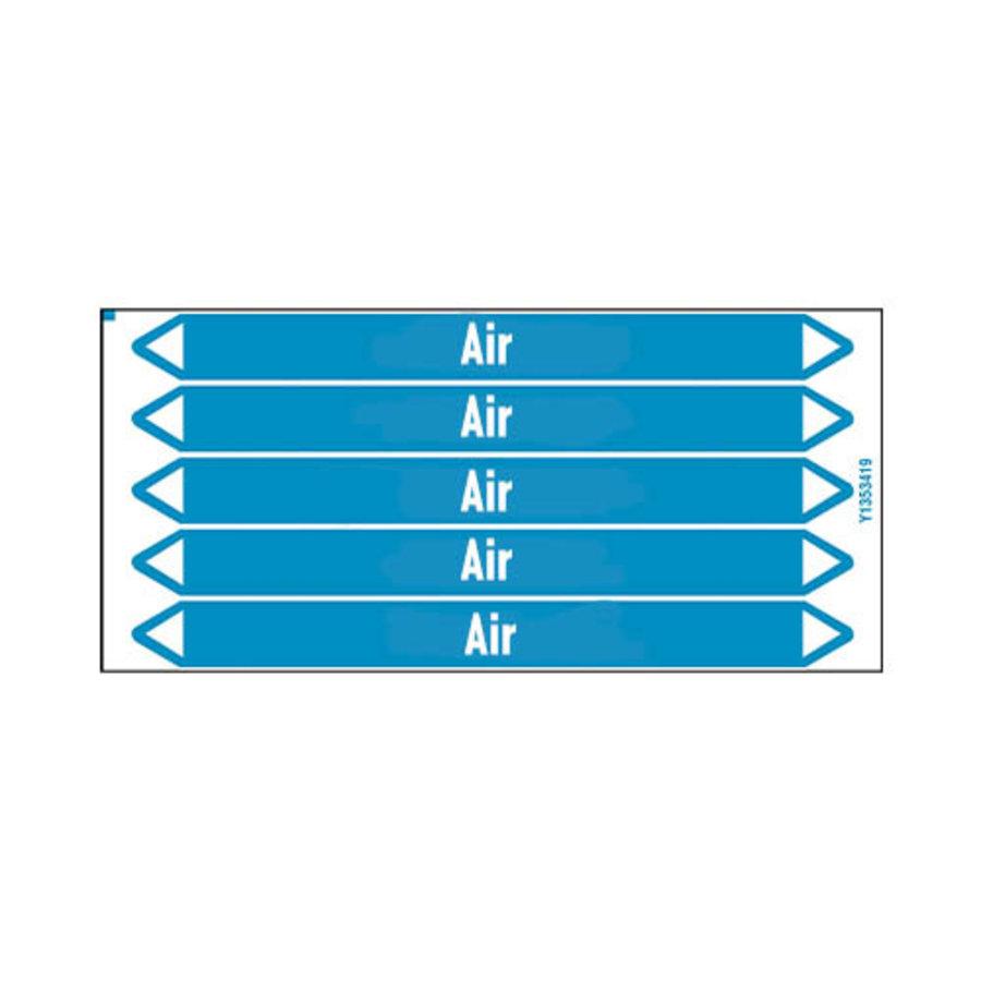 Rohrmarkierer: Compressed air 1.5 bar   Englisch   Luft