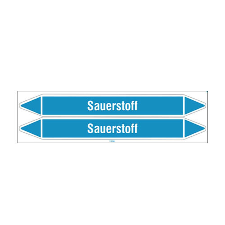 Leidingmerkers: Ozon | Duits | Sauerstoff