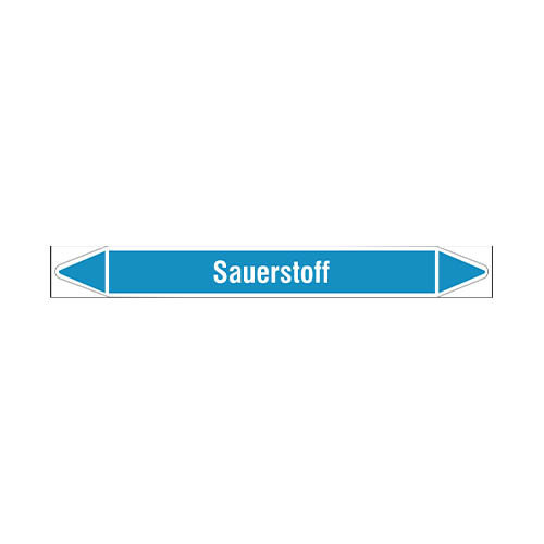 Leidingmerkers: Sauerstoff | Duits | Sauerstoff
