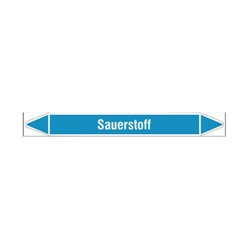 Rohrmarkierer: Sauerstoff | Deutsch | Sauerstoff