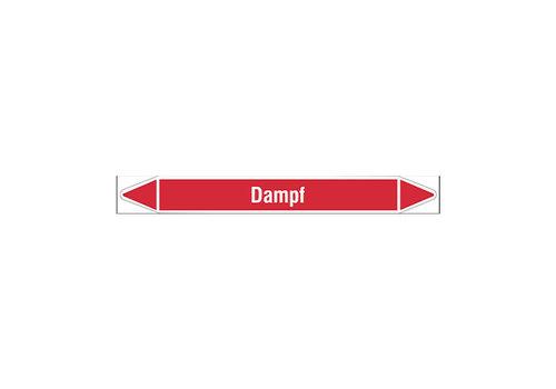 Rohrmarkierer: Abdampf | Deutsch | Dampf