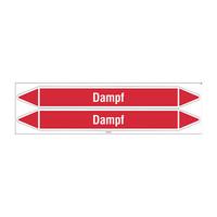 Leidingmerkers: Reindampf | Duits | Stoom
