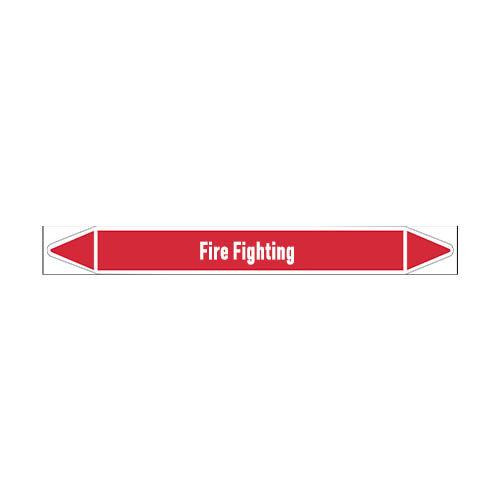 Leidingmerkers: Fire network | Engels | Blusleiding