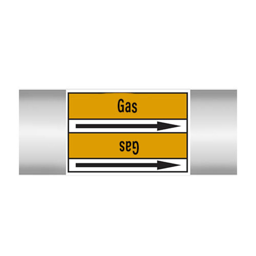 Leidingmerkers: Butane | Engels | Gassen
