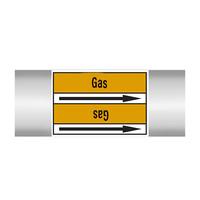 Leidingmerkers: CO2   Engels   Gassen