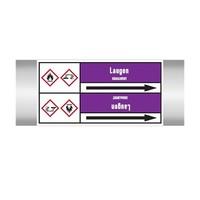 Leidingmerkers: Chlorbleichlauge | Duits | Basen