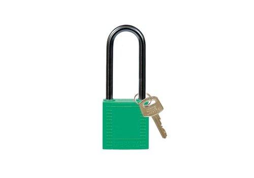 Nylon Kompakte Sicherheits-vorhängeschloss grün 814138