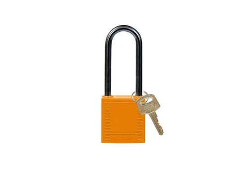 Nylon Kompakte Sicherheits-vorhängeschloss orange 814139