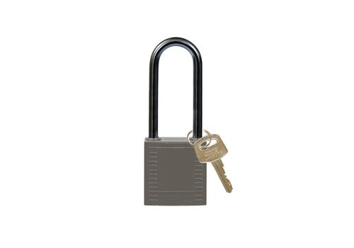 Nylon compact safety padlock gray 814143