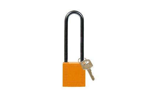 Nylon Kompakte Sicherheits-vorhängeschloss orange 814149